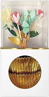 Meri Meri, Flower Bouquet Cupcake Kit, Birthday, Party Decorations