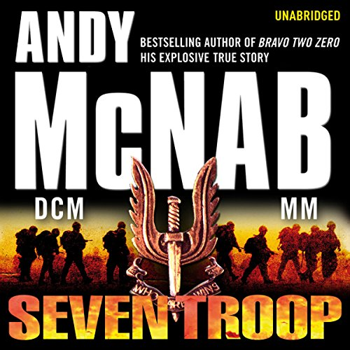 Seven Troop audiobook cover art