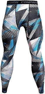 VPASS Pantalones para Hombre,Chándal de Hombres Impresión