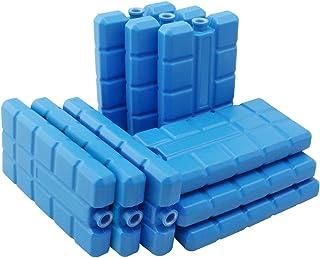 com-four® 9X Batería de refrigeración en Azul - Elementos de refrigeración para la Nevera y la Bolsa de refrigeración - Baterías de refrigeración para el hogar y el Ocio