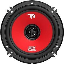 MTX Terminator6 45 Watt RMS 2 Way Polypropylene Coaxial Car Speakers, Pair photo