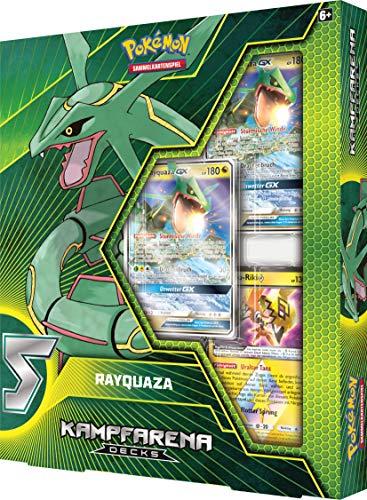 Unbekannt Pokemon - Kampfarena - Rayquaza GX - 1 Themendeck - Deutsch