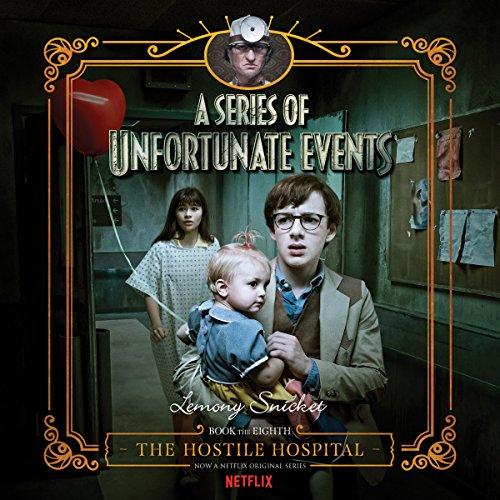 The Hostile Hospital audiobook cover art