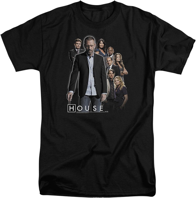 House - Mens Crew Tall T-Shirt