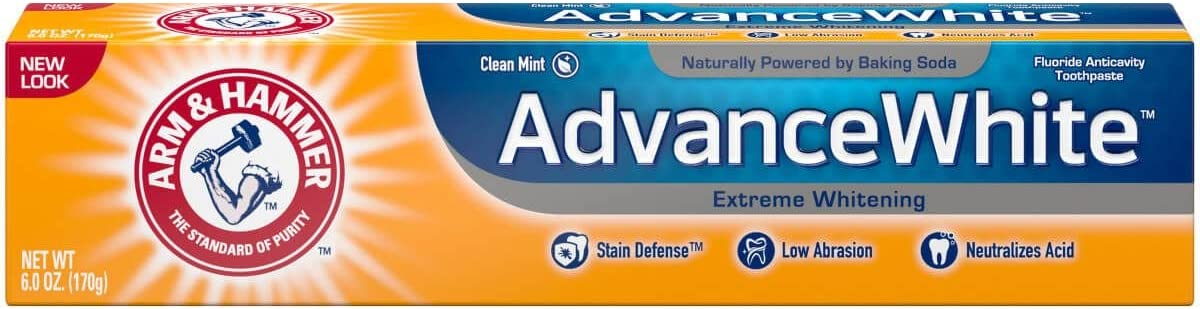 Arm Hammer Advance White Extreme Mesa Mall Whitening Mi OFFicial store Toothpaste Clean