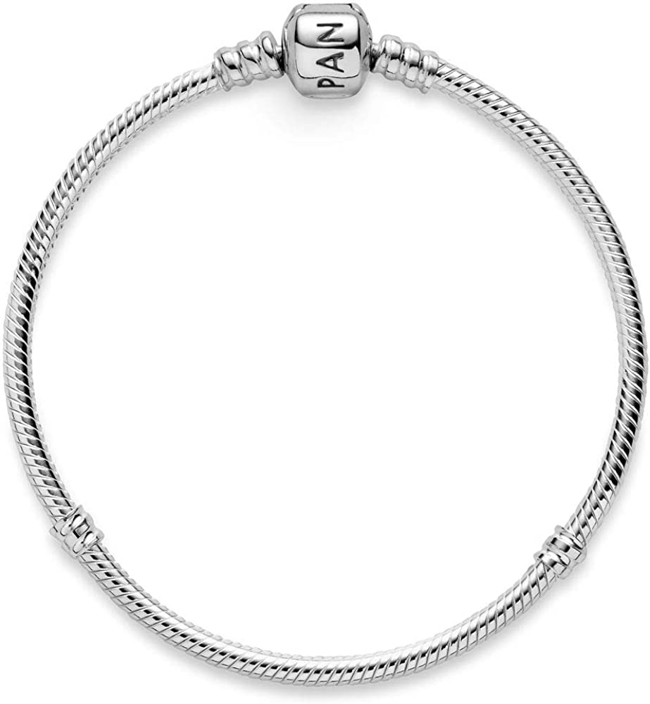 Pandora bracciale da  donna con charm  argento stearling 925 590702HV-15