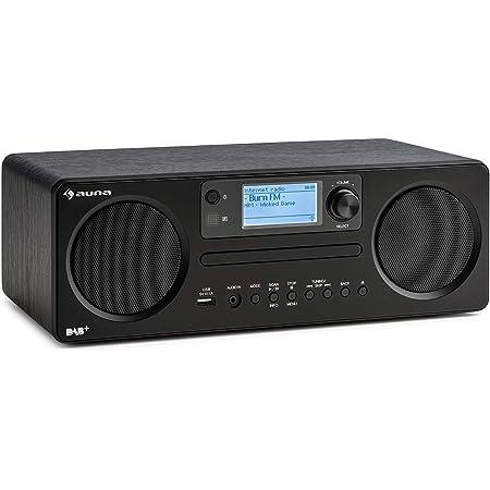 Auna Worldwide Cd Internetradio Mit Bluetooth Dab Elektronik
