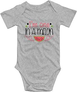 Promini Promini Im One in A Melon Baby Strampler, Baumwolle, kurzärmelig, 9-12 Monate, ZI9932
