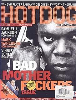 Hot Dog Magazine January 2002 (Samuel L. Jackson on Cover)