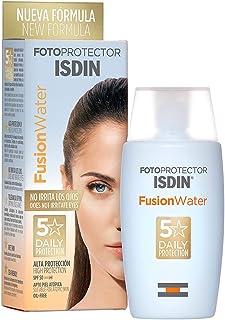 ISDIN - Fotoprotector Fusion Water SPF 50 - Protector solar facial de fase acuosa para uso diario 50 ml