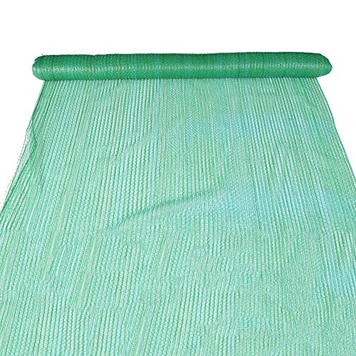 HUO Filet antipoussière Vert, Filet d'aménagement paysager, Fabrication d'échafaudage de débris Nets de Couverture de site de Construction (Couleur : Green, Taille : 1 * 30m)