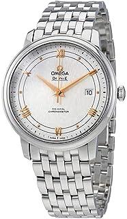 Omega - De Ville Prestige Co-Axial Reloj para hombre con esfera plateada 424.10.40.20.02.004