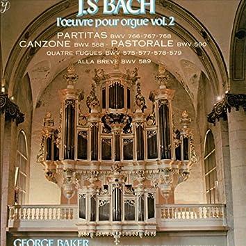 Bach : L'Œuvre pour orgue (volume 2)
