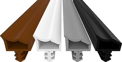 Dikara Deurafdichting tegen tocht, lawaai en stof, bespaart stookkosten, afdichting, e, 4 mm groefbreedte 7 mm groefdiept...