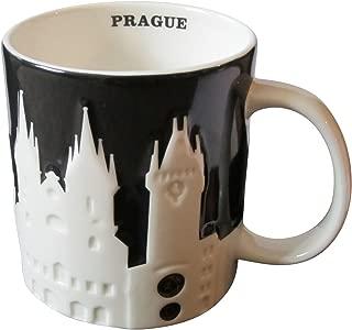 Starbucks Coffee Cup Prague Relief Black Version