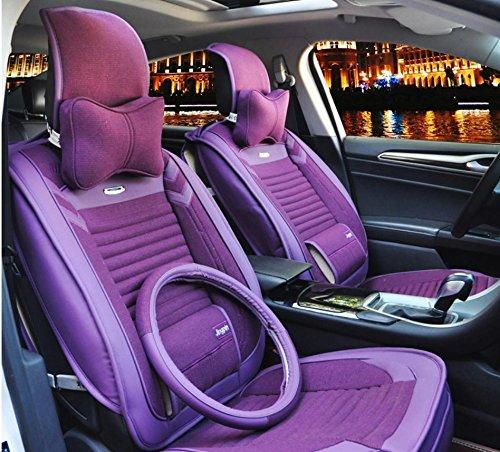 AMYMGLL Coussin de voiture Général Couverture Linge Deluxe (12set) Édition générale coussin voiture couverture des options Four Seasons Universal 5 Couleur , 1
