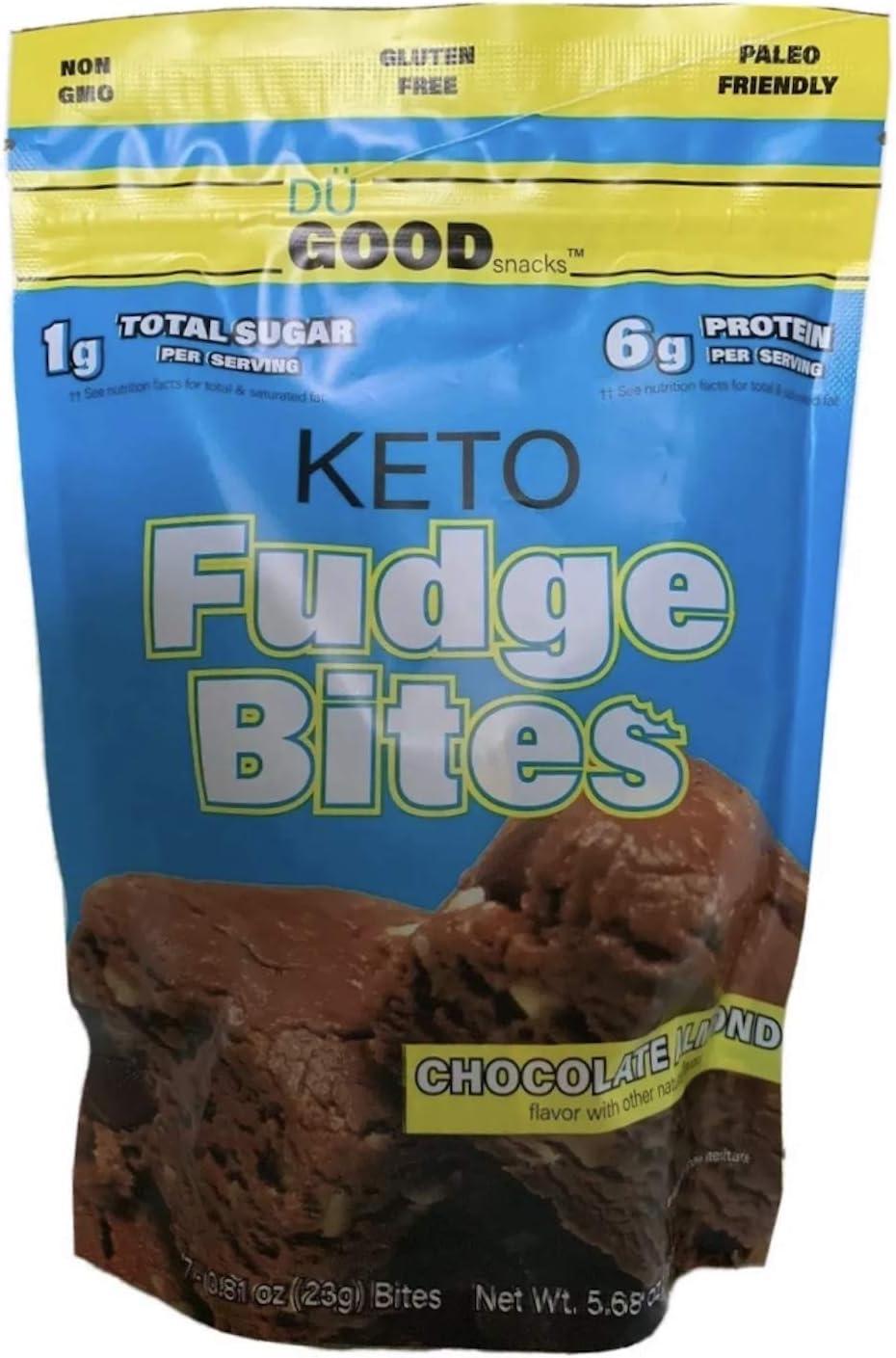 Keto Fudge Ranking TOP2 Bites Wholesale - Delicious to-go N Low-Carb Snacks Chocolate