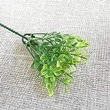 Unbekannt Llzpl Künstliche Blume 24 cm Mailand Getreide Gras Blume künstliche Pflanze Dekoration kunstgras kunststoffpflanze zimmerpflanze Bonsai e24