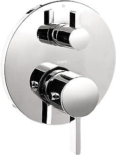 hansgrohe Ecostat Modern Premium Volume and Auto Temperature Control 2-Handle 7-inch Wide..
