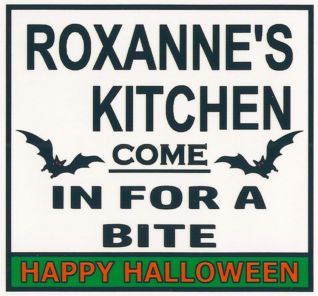 Roxanne's Cheap bargain Kitchen Halloween Magnet. Come in Our shop OFFers the best service for a Ha Bite. Happy