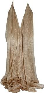 Bullahshah Selbst geprägte Glitter Chiffon Style große Schal Schals Stola Schal-Hijab