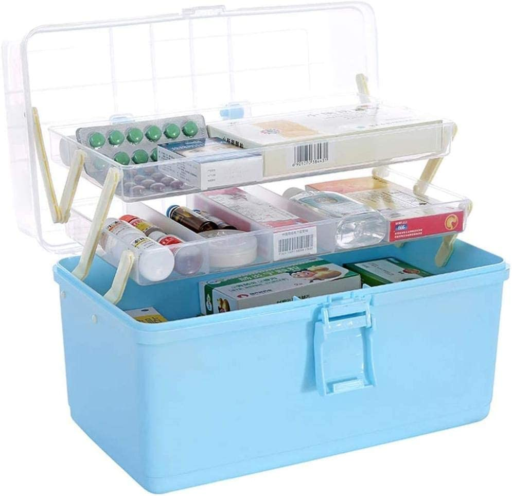 Medicine Box Drug Storage Family Finally resale start Portable Fi Pack Max 87% OFF Outpatient