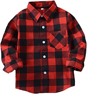 Best baby plaid flannel shirt Reviews