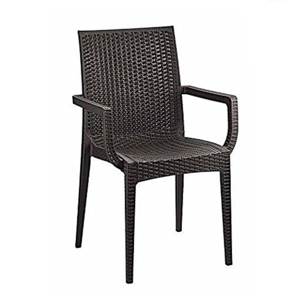 Cello Kraft Set of 11 Garden Chairs with Handle (White): Amazon.in