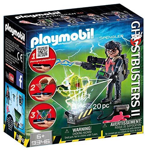 CAZAFANTASMAS Egon Spengler Playset de Figuras de Juguete, Multicolor, 7 x 14,4 x 14,6 cm Playmobil 9346