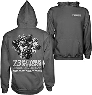 Aggressive Thread 7.3 Power Stroke Powerstroke Hoodie Sweatshirt