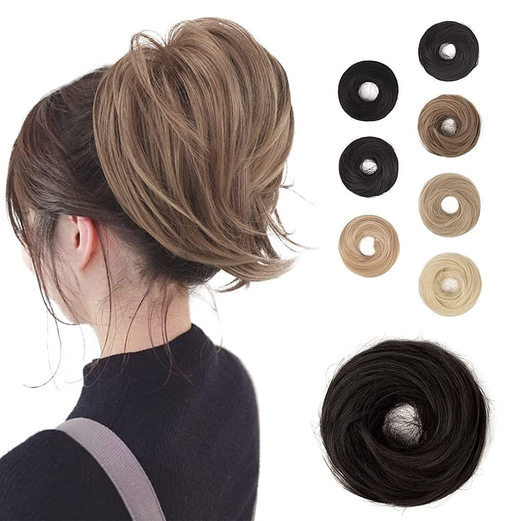 BARSDAR Hair Bun Ranking TOP1 Ponytail Hairpiec Synthetic Straight Japan's largest assortment Extension