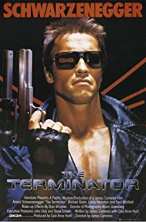 Posters: The Terminator Poster - One Sheet, Arnold Schwarzenegger (36 x 24 inches)