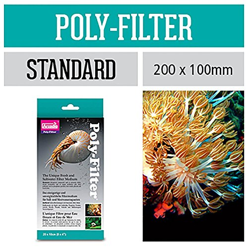 Aquarium Systems A008 Poly-Filter Standard 20 x 10 cm