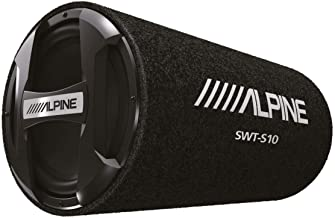 "Alpine SWT-S10 1200W Max (250W RMS) Single 10"" Sealed Subwoofer."