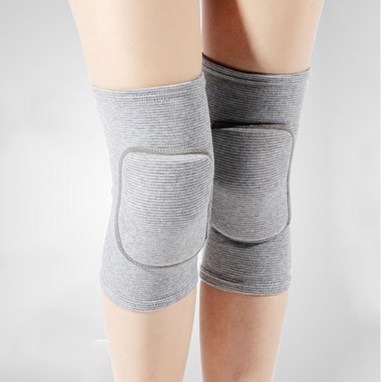 yazi-ニーパッド 膝当て 膝サポーター 膝プロテクター 綿製 伸縮素材 通気 怪我防止 関節靭帯保護 アウトドア スポーツ