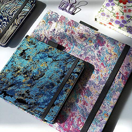taccuino cotone acquerello Sketchbook pittura Notebook Bronzing Notepad pittura Viaggiatore libri scuola cancelleria (colore : A15, dimensioni : 205x205mm)
