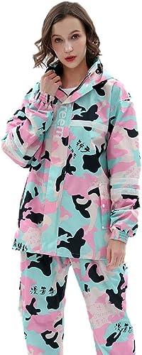 VêteHommests de Pluie de Les Les dames Manteau de Mode équitation imperméable Batterie électrique Voiture Poncho Rose Camouflage imperméable