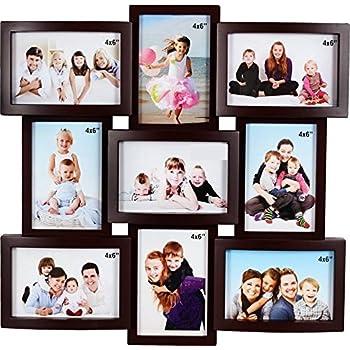 JaipurCrafts Premium Collage Plastic Photo Frame (Wooden)