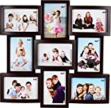 JaipurCrafts Premium Collage Plastic Photo Frame (Wooden)