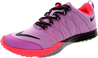 Women's Lunar Cross Element Lt MGNT/Dp Brgndy/Lt VLT Or/Hy Training Shoe 7.5 Women US