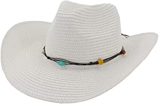 Sun Hat for men and women Straw Hat Summer Outdoor Men Women Western Cowboy Breathable Beach Hat Sunbonnet