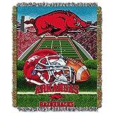 Arkansas Razorbacks 'Home Field Advantage' Woven Tapestry Throw Blanket, 48' x 60'