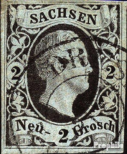 compra en línea hoy Prophila Collection Collection Collection Sajonia 5 ejemplar normal 1851 Federico Agosto (sellos para los coleccionistas)  Hay más marcas de productos de alta calidad.