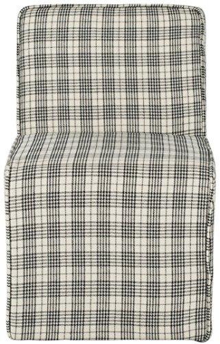 Safavieh Chaise Audrey Stuhl, Schaumstoff, Weiß, 45 x 61 x 67.56 cm