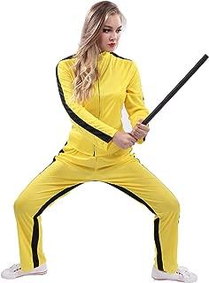 Woman's Kung Fu Costumes (Dragon Yellow)