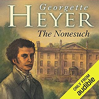 The Nonesuch audiobook cover art