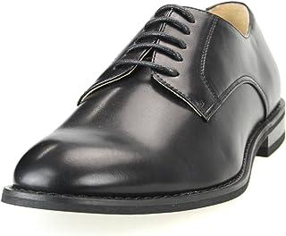 [シュベック] オックスフォードシューズ メンズ プレーントゥレースアップ ビジカジ 紳士靴 ビジネスシューズ