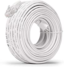 Zmodo 50ft 3rd Generation Network Cable for sPoE NVR Kit with USB Port