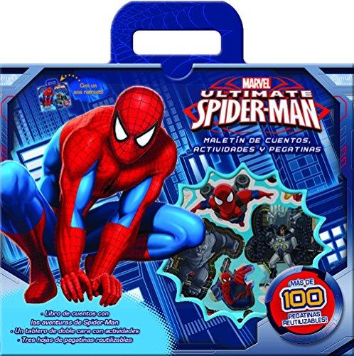 Spider-Man. Maletín de cuentos, actividades y pegatinas