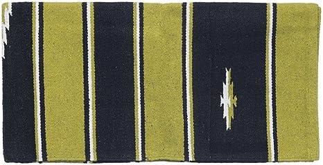 Tough 1 Saddle Blanket Sequoyah Hand Woven Wool 36 x 34 35-9040